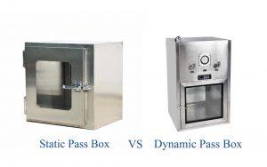 Static Pass Box và Dynamic Pass Box khác nhau ở điểm nào?