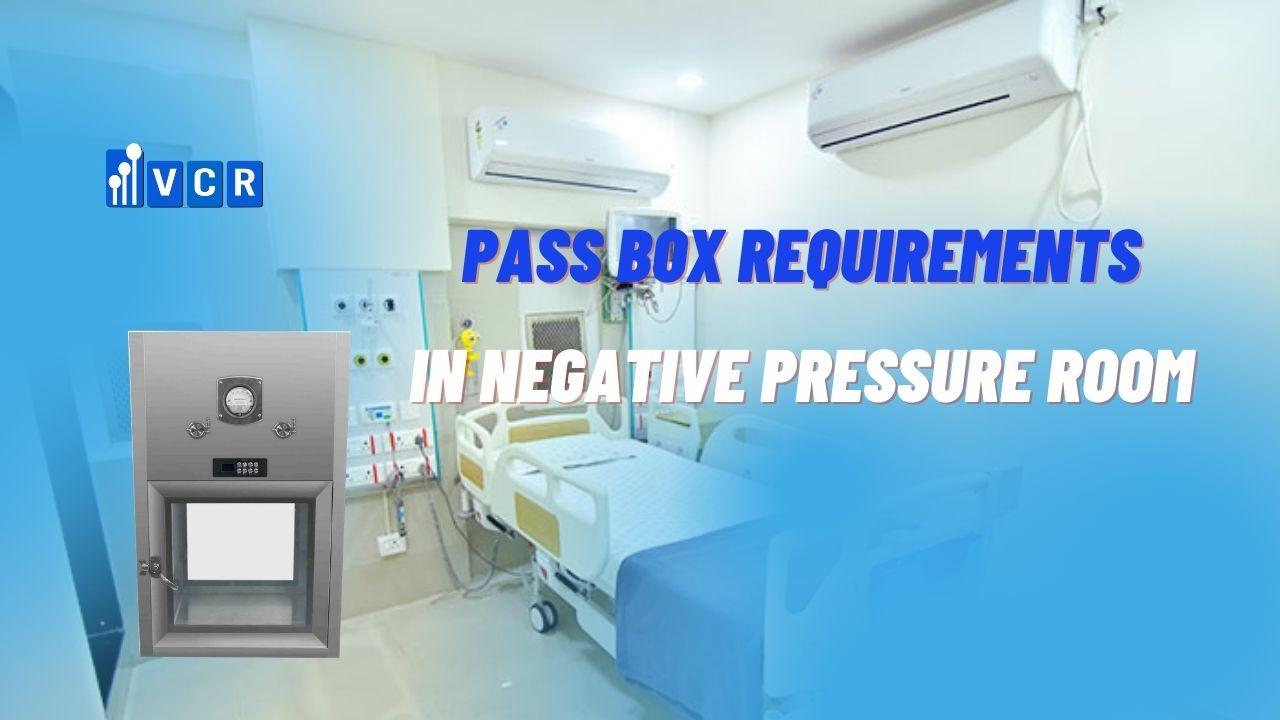 pass box negative pressure clean room